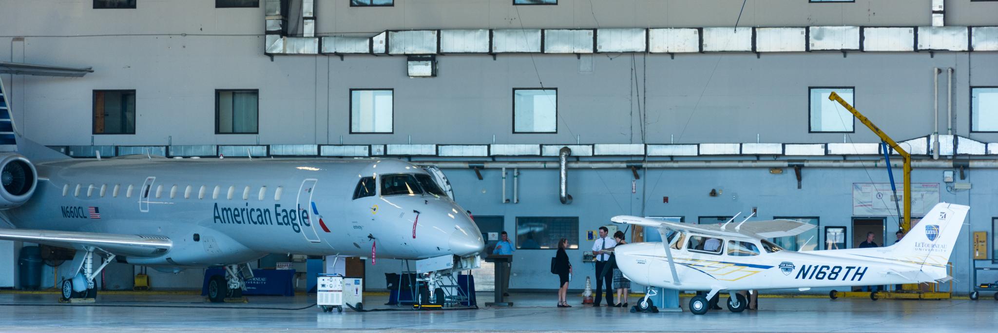 Letourneau University Aviation Career Fair Envoy Air
