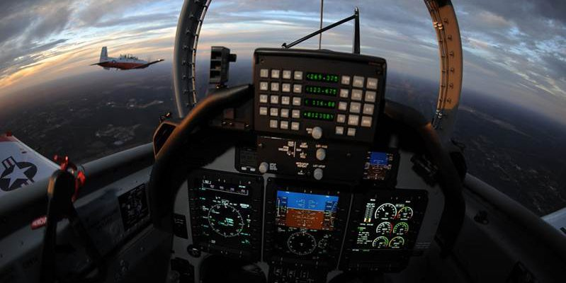 T-6B cockpit