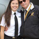 FO Nicole Mott with WMU Dean Dave Powell