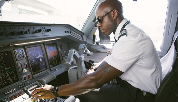 Army veteran and Envoy pilot, LaTroy Green is living the dream