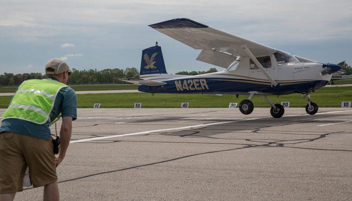 ERAU Prescott and Daytona Flight Teams compete in week-long event held at OSU Airport in Dublin, OH