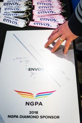 Envoy's NGPA Diamond Sponsor plaque
