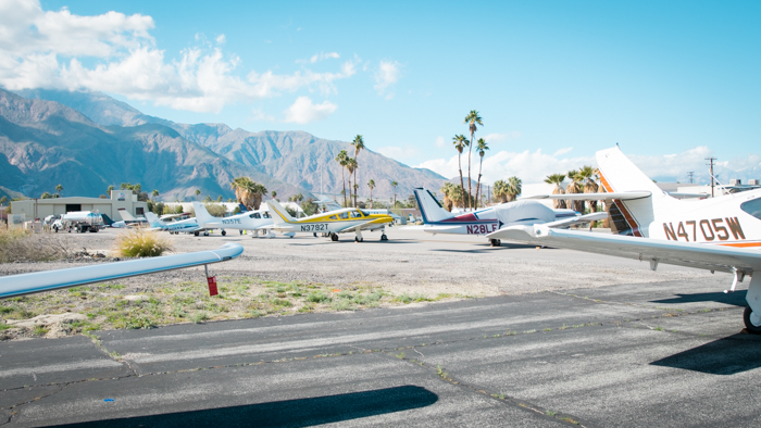 Some of the tail draggers that made their way to Palm Springs for the Queen of the Fleet contest.
