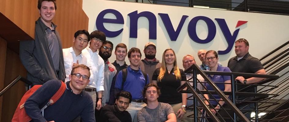 LeTourneau Aviation students at Envoy Air