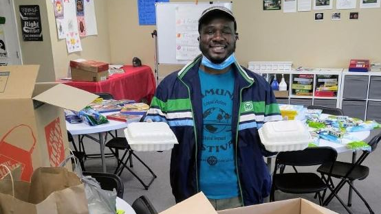 Michael Aaron Rickenbacker Woods Meal Service & Care Packages